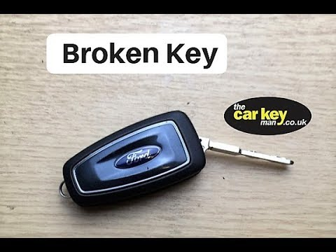 Ford Flip Key Blade Broken Key How To Fix Youtube