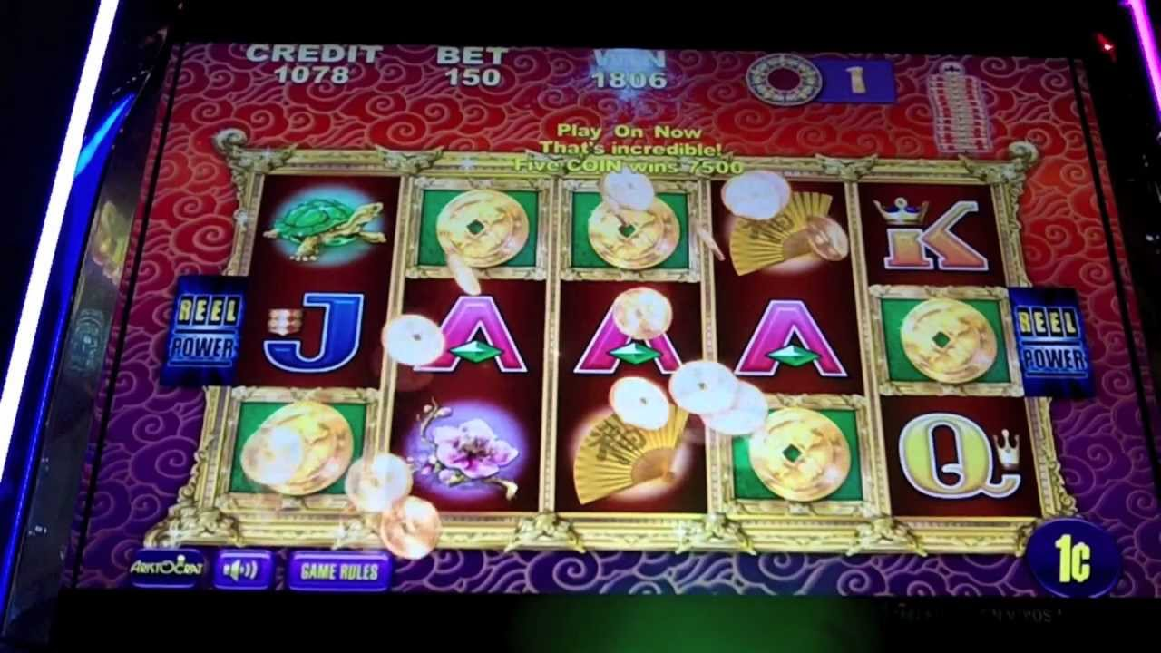 Aristocrat 5 Bats Slot Machine Bonus - YouTube