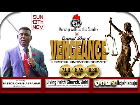 COVENANT DAY OF VENGEANCE | 1ST SERVICE | 15-11-2020 | With Pst Chris Abraham