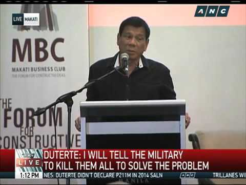 DO30WATCH: Duterte Lastet Video During Makati Business Furom