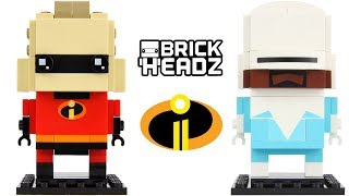 LEGO Brickheadz Mr. Incredible & Frozone 41613 Review