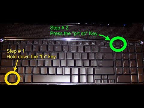 كيف تلتقط صورة شاشة اللابتوب او الكومبيوتر بكل سهولة Youtube