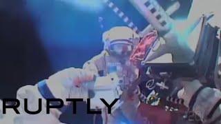 5 hours in deep space: Russian cosmonauts first spacewalk in 2016