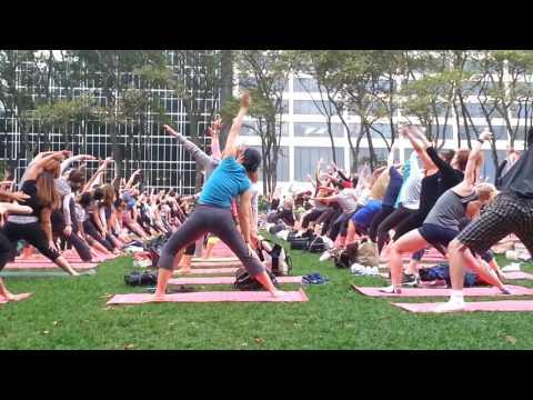 Yoga Pt 2 Christine Chen at Bryant Park