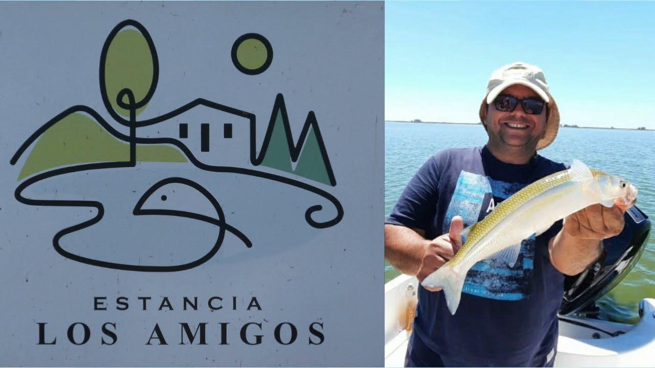 Estancia Los Amigos Laguna de Gomez Junin, excelente pesca de pejerreyes -  YouTube