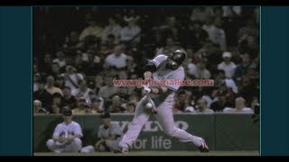 Jason Giambi Slow Motion 1000fps Home Run Baseball Swing - Hitting Mechanics Instruction MLB