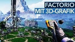 Satisfactory ist Factorio-Spaß mit 3D-Grafik
