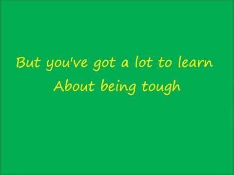 Justin McBride- Tough (Lyrics on screen)