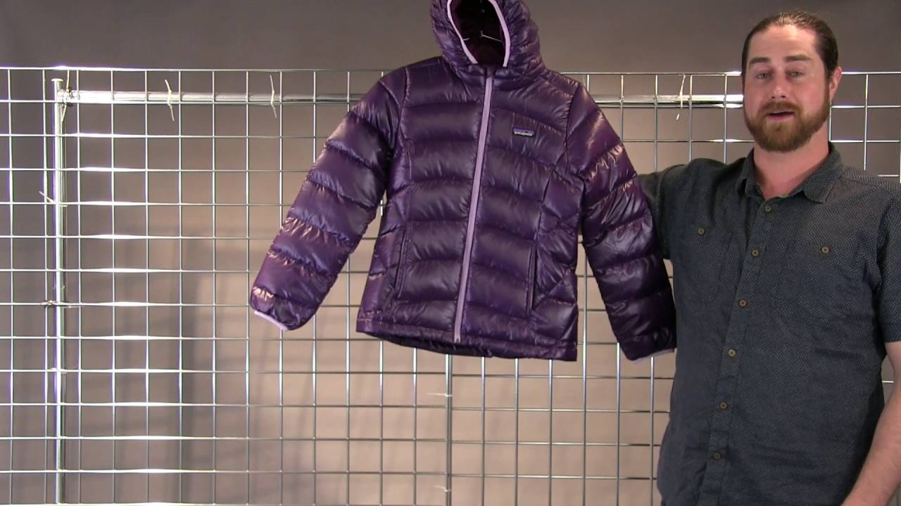 Patagonia Girls Hi Loft Down Sweater Hoody 2016 2017 Youtube