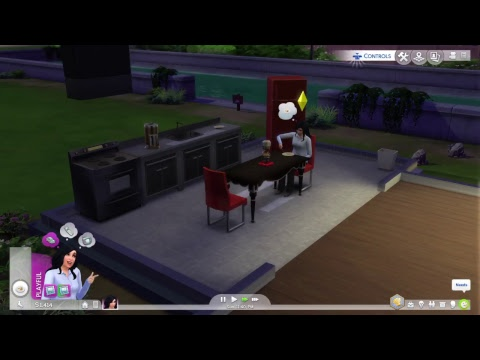 Sims 4 upgrade house build for babe