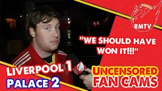 """We should have won it"" 