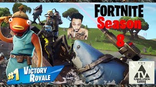FORTNITE SEASON 8 BATTLE ROYALE WORST BOT HOW'S PURE TRASH!