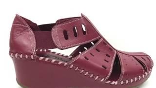 видео Обувь мужская LEGRE