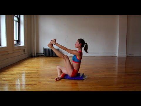 easy gentle yoga stretch  youtube