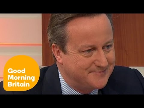 David Cameron On Why We Should Stay In The EU | Good Morning Britain