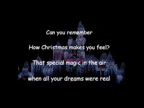 Disneyland Believe In Holiday Magic Song- Can you remember