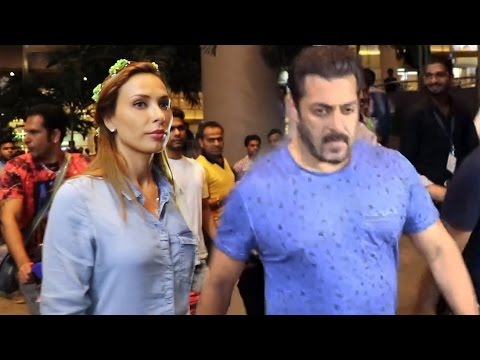 Thumbnail: Salman Khan & Iulia Vantur RETURNS Mumbai From Maldives Holiday