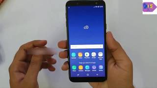 Samsung J6 infinity unboxing, camera sample and fingerprint performance review India 2018 in Hindi