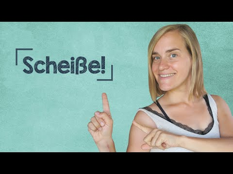 "German Lesson (203) - How to Say ""Shit"" in German - B1"