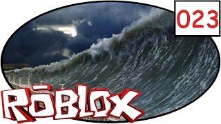 ROBLOX [023] Der fetteste Tsunami! | Lets play | deutsch | german