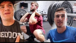 Front Squat CONDITIONING for CROSSFIT (THE RIGHT WAY)