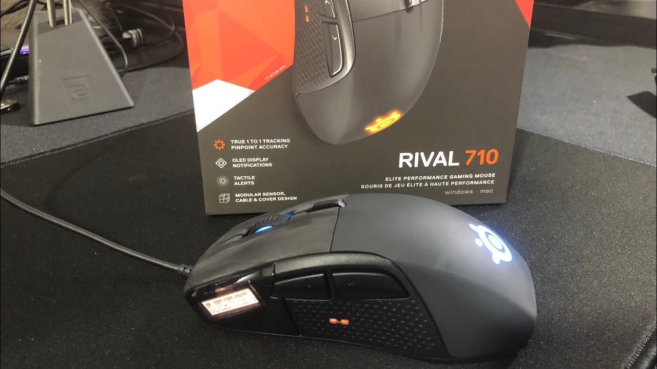 715d4a9a266 SteelSeries Rival 710 Unboxing and Review - YouTube
