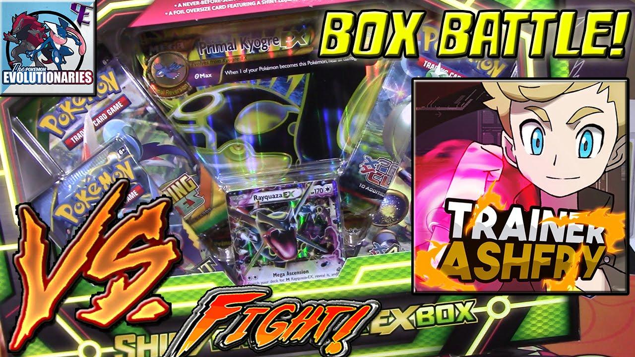 Primal Kyogre Card Pokemon Cards Shiny Primal Kyogre Box Opening Battle Vs