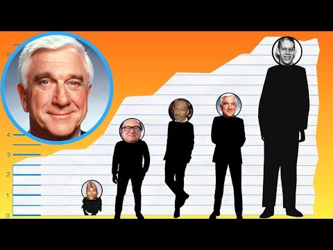 How Tall Is Leslie Nielsen? - Height Comparison!
