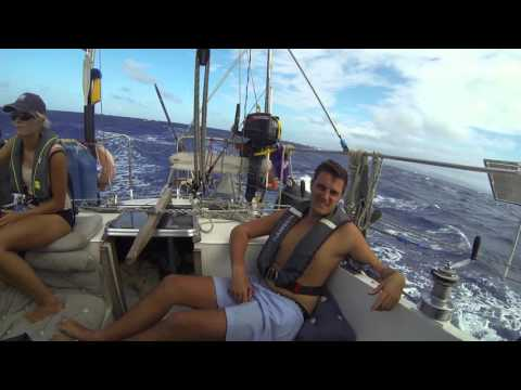 Sailing across the atlantic