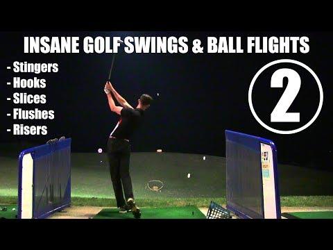 Insane Golf Swings & Ball Flights ¦ SECOND EDITION