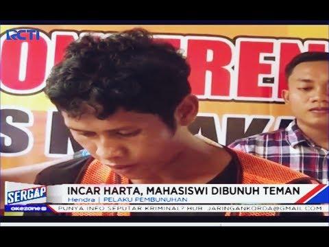 Pembunuh Mahasiswi di Kolaka, Ternyata Teman Kerja Korban - Sergap 11/12
