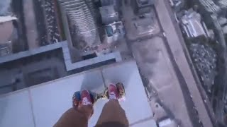 Oleg Cricket Dubai Rooftop ( Segway Hoverboard ) Choc Extreme