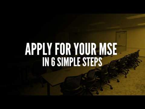 Purdue Engineering Online: MSE Application Requirements