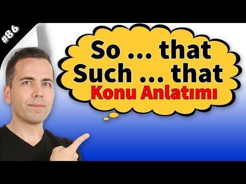 So that & Such That Konu Anlatımı #86