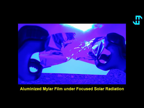 Graphene Solar Sail Maglev Tests