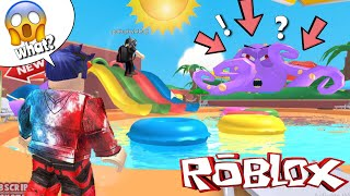 ESCAPE FROM THE WATERPARK!!? 😂😂😂 | ROBLOX INDONESIA