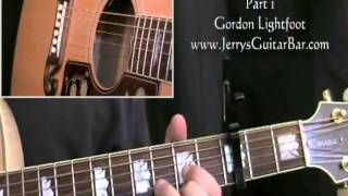 How To Play Gordon Lightfoot Canadian Railroad Trilogy Intro and 1st Section