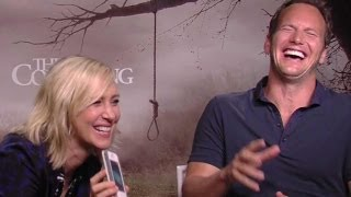 Patrick Wilson & Vera Farmiga 'The Conjuring' Interview