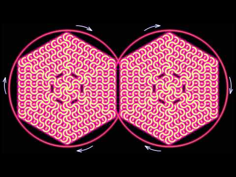 Синхронизация левого и правого полушарий мозга.