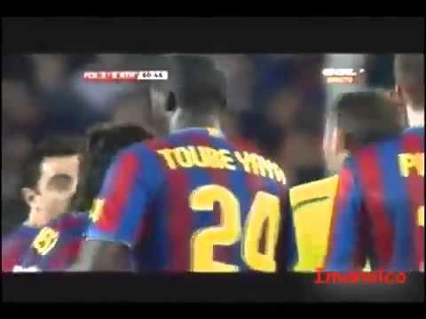 Rivaldo | Eto'o | Villa | Thierry Henry | Deco | Valdes & Toure Vs Athletic Bilbao ( Barcelona )