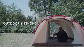 OUTDOOR * KIMONO produced by Snow Peak / YAMATO   茶室編