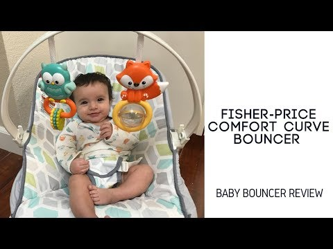 Fisher-Price Comfort Curve Baby Bouncer Seat