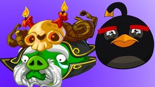 Мультик ИГРА для детей Энгри Бердс. Прохождение ИГРЫ Angry Birds Epic 56 серия c ЗОМБИ #КРУТИЛКИНЫ
