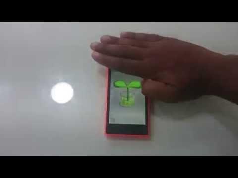 Nokia X2 Proximity Sensor Test