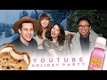 NITROGEN ICE CREAM & PEPTO-BISMOL COCKTAILS | YOUTUBE HOLIDAY PARTY HD