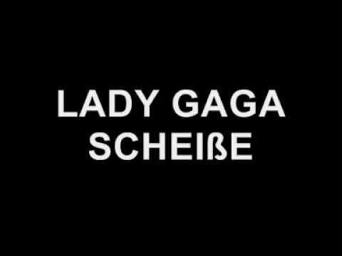 Lady Gaga - Scheiße (with lyrics) mp3