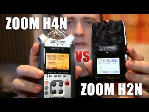 Zoom H4N vs Zoom H2N Audio Tests | DSLR Audio