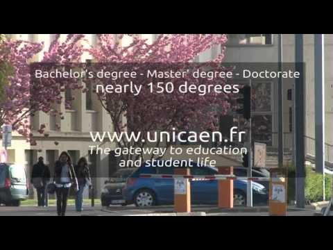 Introduction to the University of Caen
