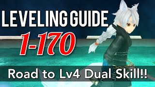 Gambar cover Toram Online: POWERLEVELING GUIDE 1-170 | WEREWOLF KRO'S ADVENTURE STORY & Road to lv4 DUAL skill