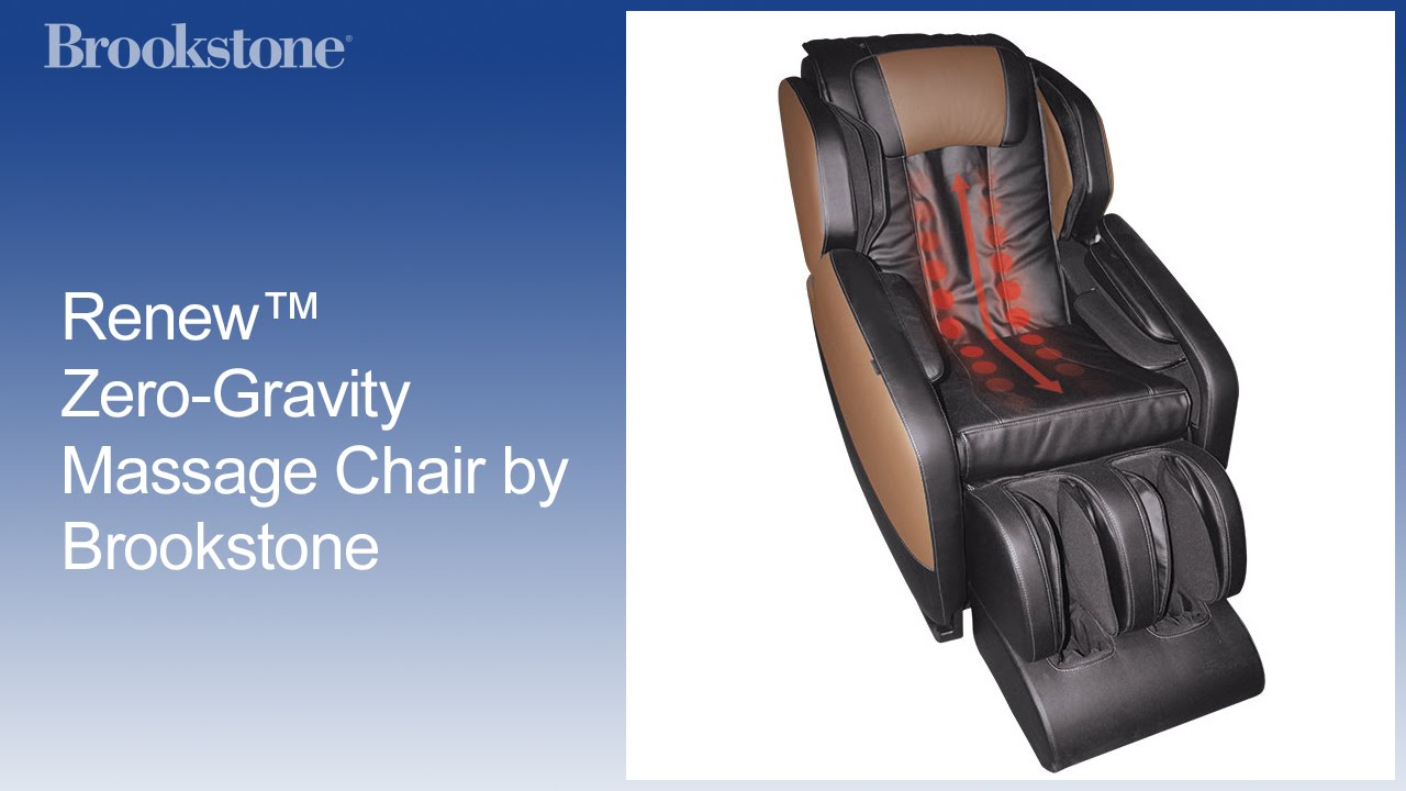 Massage Zero Gravity Chair T4 Spa In San Jose Renew By Brookstone Youtube